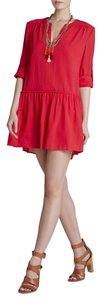 BCBGMAXAZRIA short dress LIPSTICK RED on Tradesy