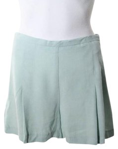 Zara Dress Shorts Green