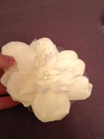 Ivory Peony Flower Clip (Ivory) Hair Accessory