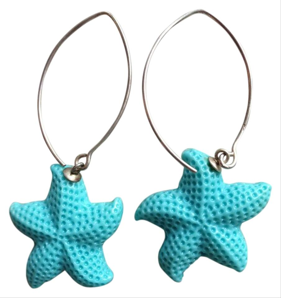 Other Sterling Silver Starfish Earrings