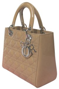 Dior Lady Tote in beige