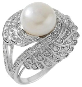 Designs by Veronica Designs by Veronica 10-10.5mm Cultured Freshwater Pearl Sterling Silver
