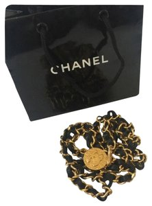 Chanel Authen Chanel CC LOGO chain belt/ necklace