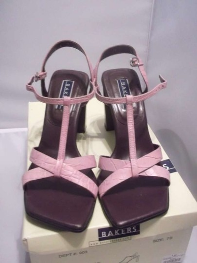 Bakers Heels Casual New.box Size 7 Pink Formal