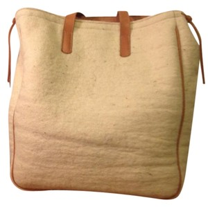 Sustainable Cashmere Italy Leather Shoulder Bag