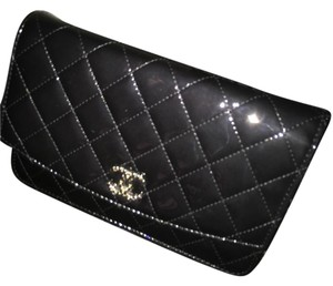 Chanel Patent Leather Woc Cross Body Bag