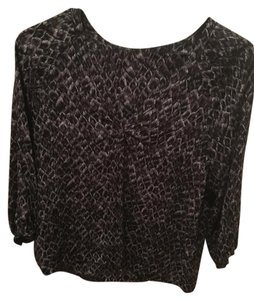 Joie Top Black Gray