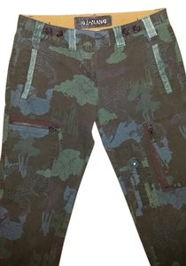 Da-Nang Cargo Pants Camp flower print