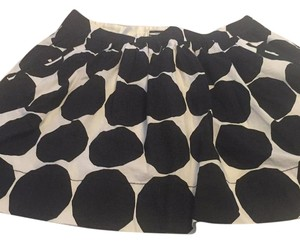 Marimekko for banana republic Skirt Black and white