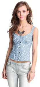 Mimi Chica Top Blue