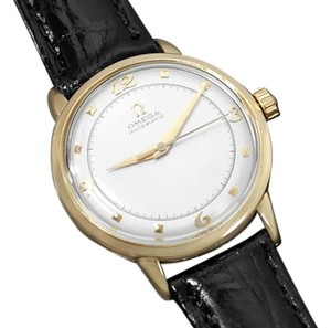 Omega 1953 Omega Vintage Mens Mid Century Automatic Watch - 14K Gold
