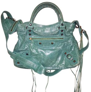 Balenciaga Satchel in Green/