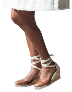Soludos Espadrille Tan Wedges