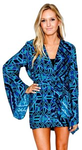 Show Me Your Mumu Top Blue multi
