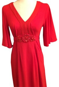 Light Red Maxi Dress by ECI New York