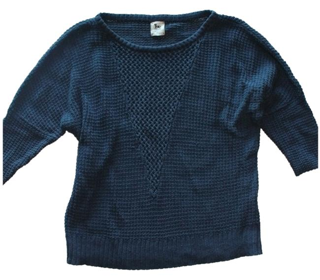 Preload https://item2.tradesy.com/images/la-t-by-l-agence-blue-34-sleeve-sweaterpullover-size-4-s-1690271-0-0.jpg?width=400&height=650
