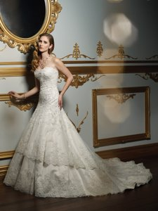 James Clifford J21328 Wedding Dress