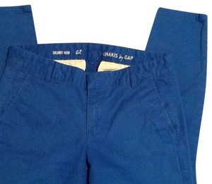 Gap Skinny Pants Bright blue