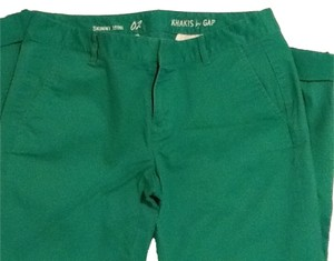 Gap Skinny Pants Bright green
