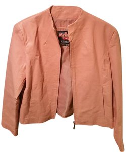 USA Leather pink Leather Jacket