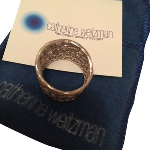 Catherine Weitzman Sterling Silver Coral Catherine Weitzman ring