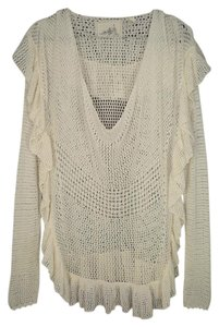 Anthropologie Angel Of North Anthro Crochet Sweater