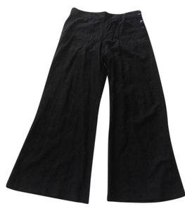Ralph Lauren Trouser Linen Tencel Summer Wide Leg Pants Black