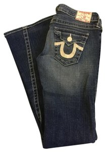 True Religion Joey Womens Boot Cut Flare Leg Jeans