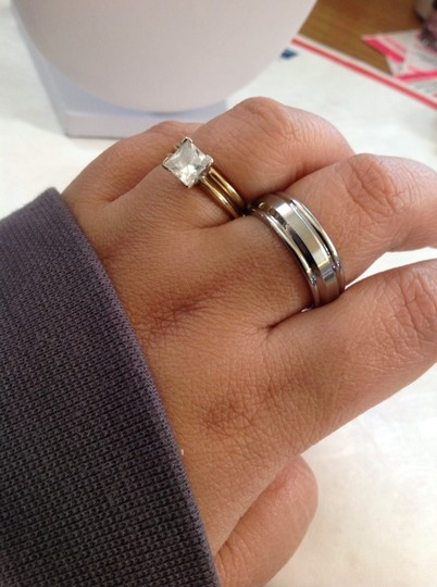 None Stainless steel Ring Size 9 For Men