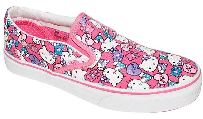 Item - Pink Multi Hello Kitty Sneakers Size US 8.5 Regular (M, B)