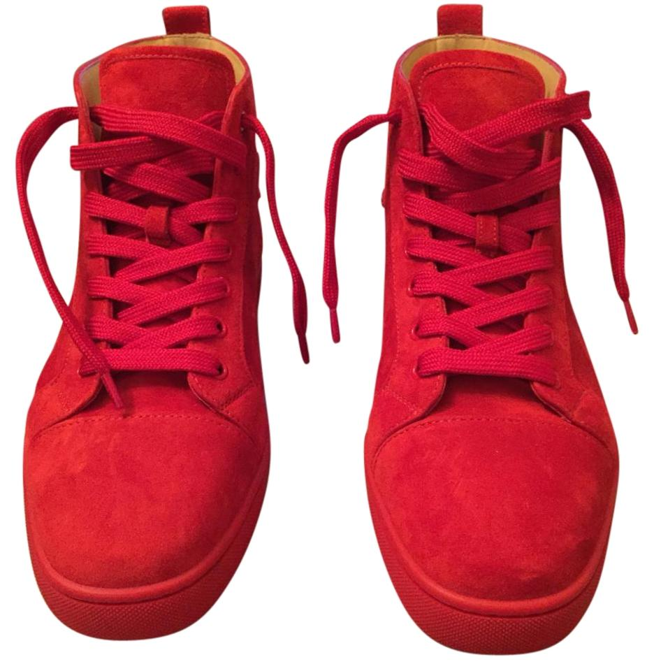 new product 174f8 df986 Red Louis Flat Sneakers