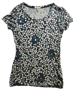 Burberry T-shirt Blouse T Shirt multi blue tones