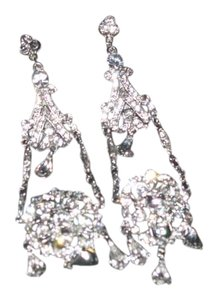 Giavan Giavan GH91E- LG-rh (e30) swarovski crystal Chandelier Earrings