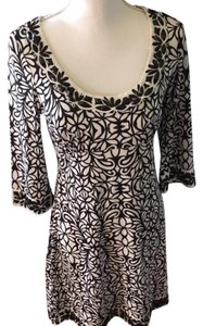 INC International Concepts short dress black/white Beaded on Tradesy