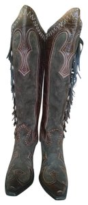 Double D Ranchwear Brown Boots