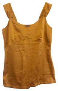 Ann Taylor Gold Tank Top