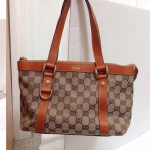 Gucci Perfect Condition Practicly Brand New Tote in BROWN