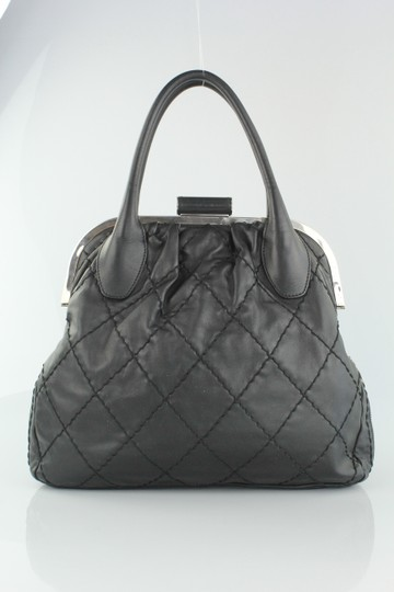 Chanel Lambskin Expandable Stitched Tote in Black