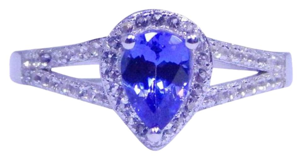 tanzanite carats natural mq bluish color purple shape carat marquise