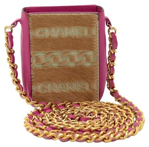Chanel Cell Phone Iphone Cross Body Bag