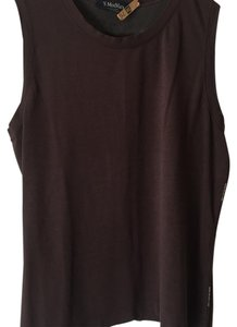Max Mara Top Brown