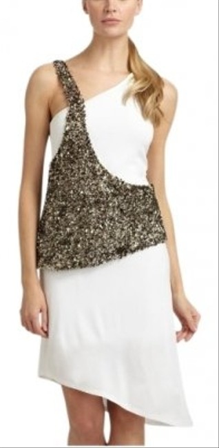 Poleci Sequin Asymmetrical Dress