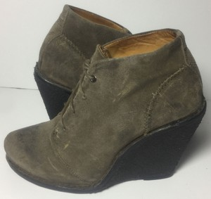 Rag & Bone & Boots 8.5 & Women & Boots Size 39 Brown Wedges