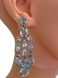 Alexis Bittar Blue Topaz earrings