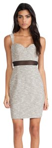 Paper Crown Tweed Shift Sheath Dress