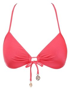 Luli Fama LuliFama Cosita Buena Molded Push-Up Bandeau Halter - Bright Red