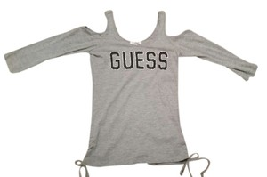 Guess T Shirt Gray/black