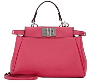 Fendi Peekaboo Micro Cross Body Bag