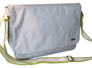 Lacoste Pearl Grey Messenger Bag
