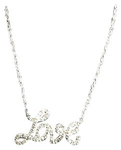 Other Diamond love necklace